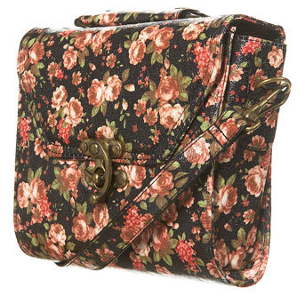 bag, fashion, floral, floral bag, pretty, style, vintage