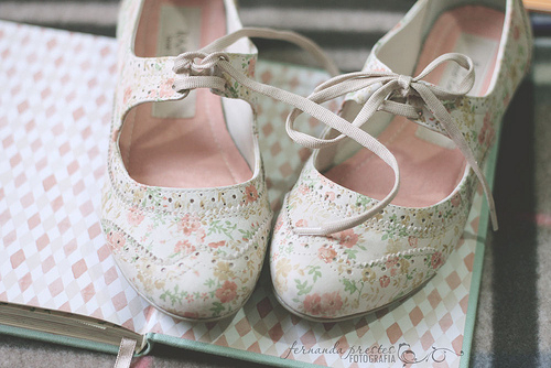 ballerina, bed, cute, delicate, girl, girly, pastel, photography, pink, shoes