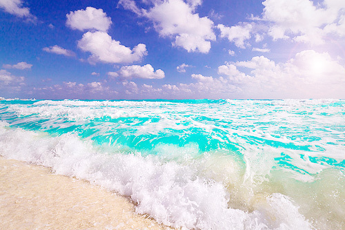 beach, beautiful, blue, clouds, colour, light blue, natur, sea, sky, water
