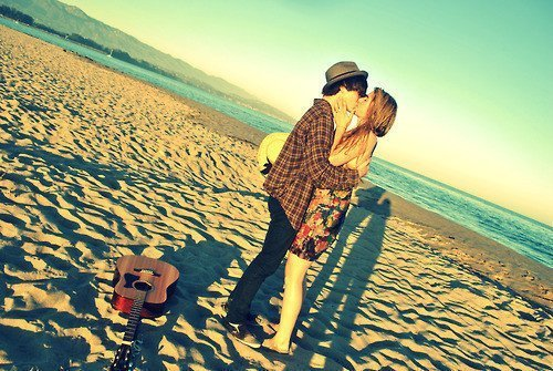 beach, boy, cool, couple, cute
