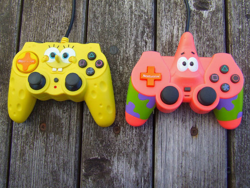 beach, controllers, cute, funny, nickelodeon