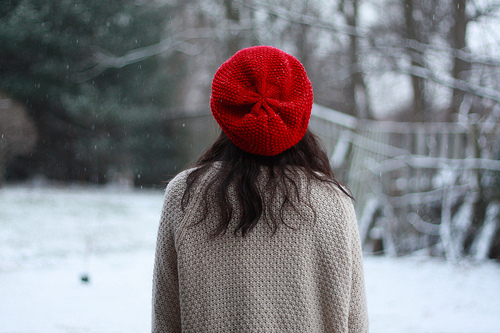 beanie, beautiful, brunette, cold, cute, girl, gorgeous, photography, pretty, red, snow, winter