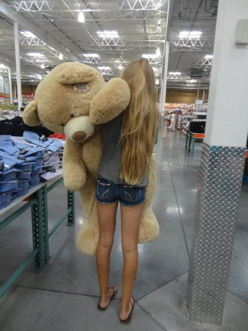 bear, blond girl, fashion, girl, girls