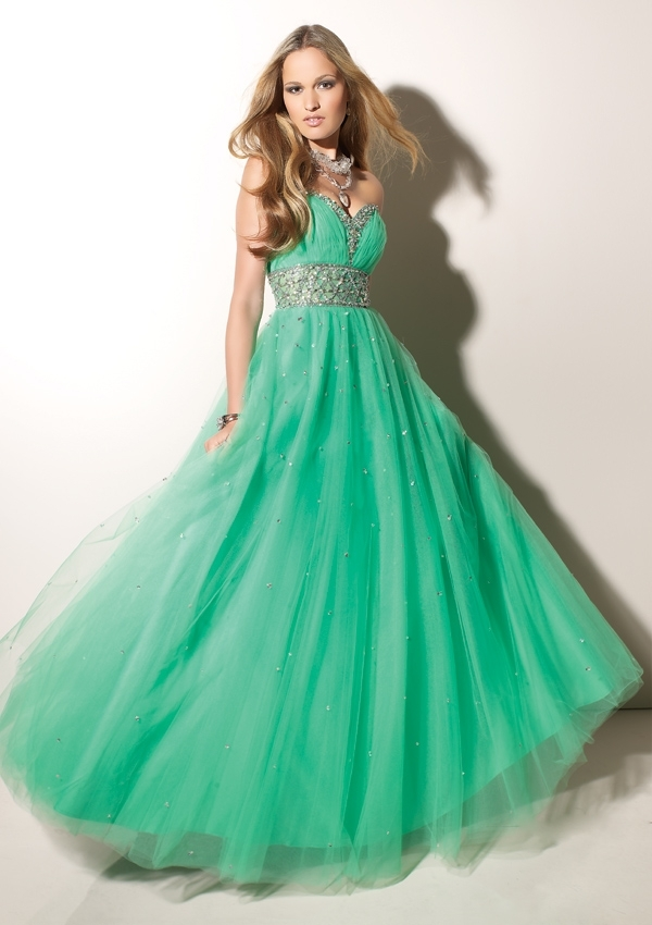 beautiful, blonde, blue, colour, dress, girl, green, prom, stunning