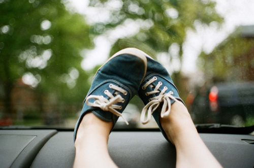beautiful, blue, car, girl, hipster, indie, legs, photo, photography, sbhoes, vans