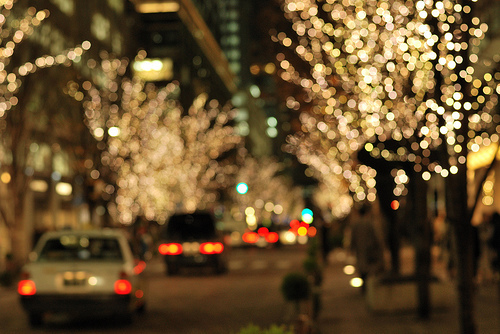 beautiful, bokeh, car, cars, christmas