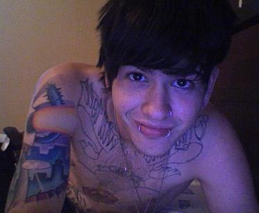 beautiful, boy, cute, guy, handsome, man, piercing, piercings, plugs, t mills, tattoo, tattoos, travis tatum mills, vocalist
