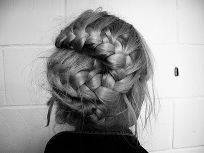 beautiful, braid, french braid, hair, pretty