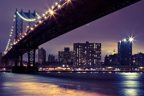 beautiful, bridge, bright, brooklyn bridge, city