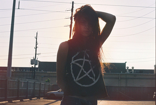 beautiful, city, fashion, girl, hair, model, photography, skinny, sun, thin, town