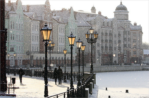 beautiful, city, love, photography, snow