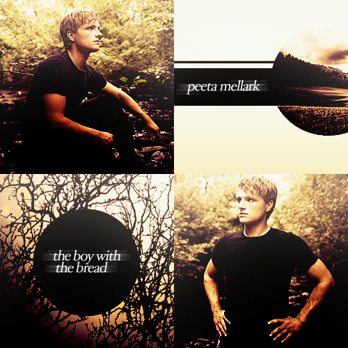 beautiful, cute, josh hutcherson, katniss, peeta mellark, the hunger games
