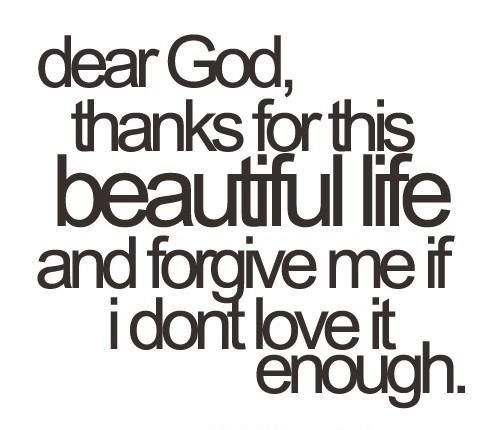 beautiful, dear, god, life, text