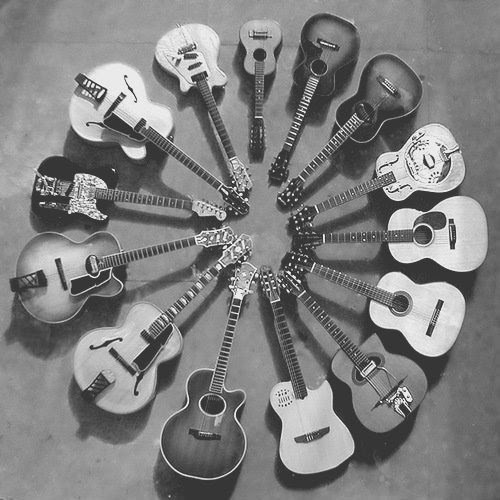 beautiful, guitar, guitars, music