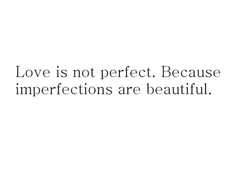beautiful, love perfection, text