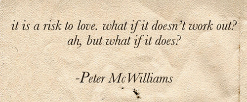 beautiful, love, peter mcwilliams, quote