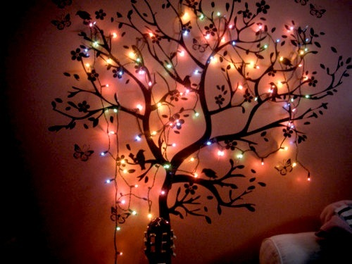 bedroom lights tree wall image 270348 on