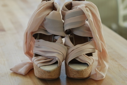 beige, fashion, heels, light pink, platform, shoes