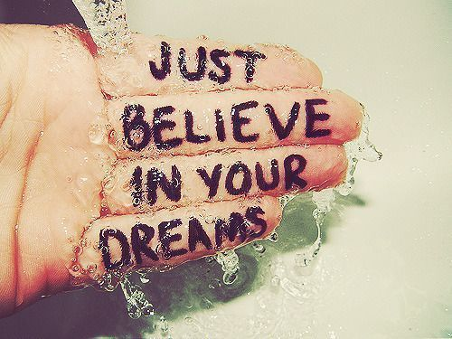 believe, boy, cute, dream, dreams, friends, friendship, girl, hand, hope, inspiration, love, quote, sad, sweet, text, typography