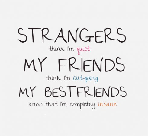 best friends, friends, quotes, strangers