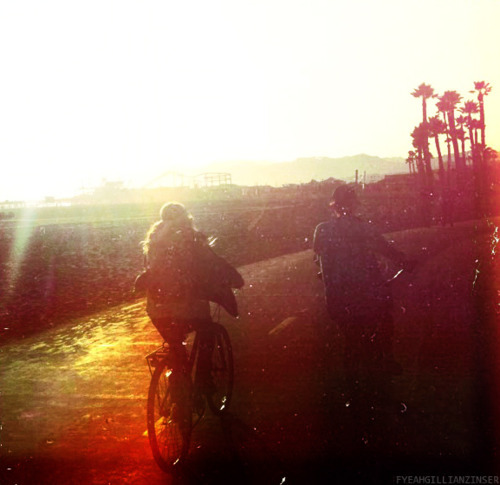 bicycle, boy, california, couple, gillian zinser, girl, summer, summertime, sunshine, vintage