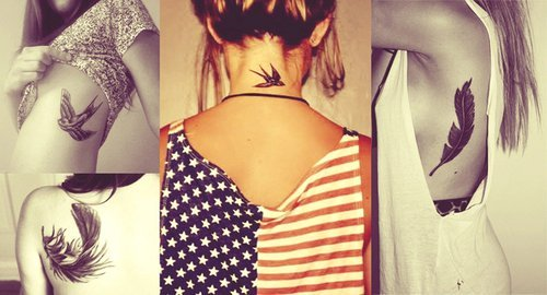 birds, love it, tatto, tattos