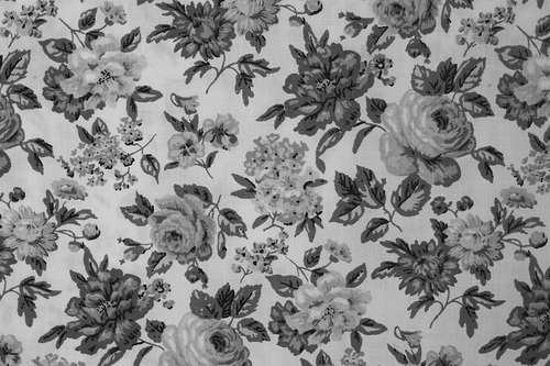 Black And White Vintage Flowers 25