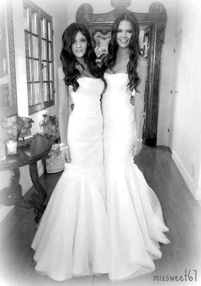 black and white, kendall jenner, kylie jenner, marry, sister