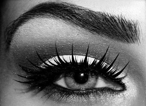 black, cute, eye, girl, glitter, make up, wonderful