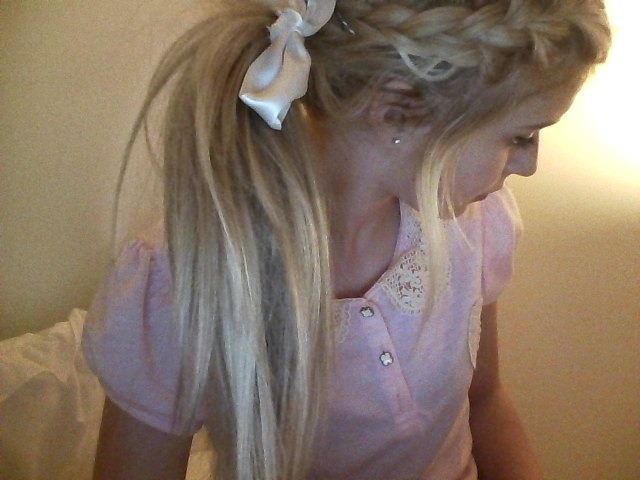 blonde, blouse, braid, cute, fashion