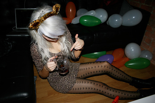 blonde, drunk, fashion, girl, party