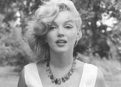 blonde, fashion, girl, look, marilyn monroe