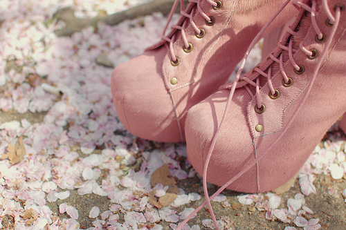 boots, cute, fashion, girly, heels, jeffrey campbell, lita, litas, outfit, pastel, pink, pretty, sexy, shoes, spring, vintage