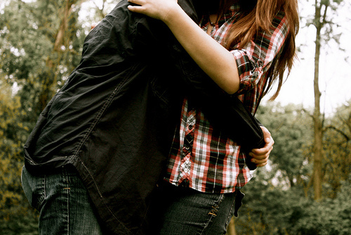 boy, couple, cute, girl, hugging