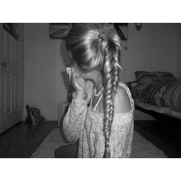 braid, hair, plait