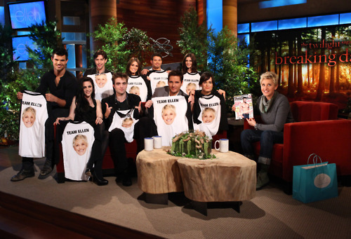 breaking dawn, ellen, ellen degeneres, ellen show, twilight