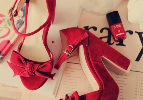 brilliant, cool, cute, dress, fashion, girl, glamour, great, perfect, photofraphy, pretty, red, shoes, style, vogue, want
