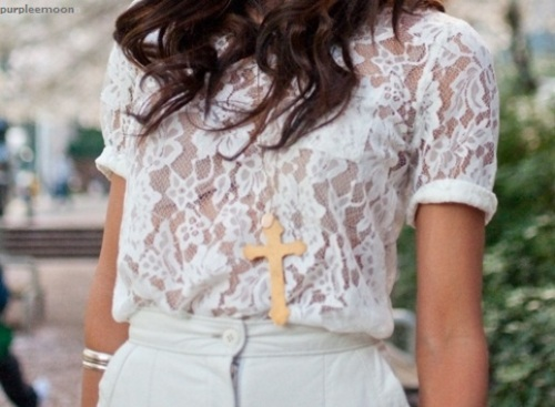brunette, cross, curl, curls, fashion