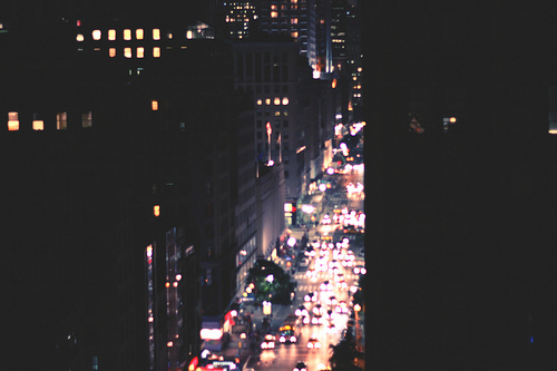buildings, cars, cars lights, city, city lights, night, night life, photography, roads, street, windows