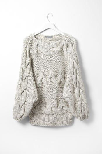 cable, clothes, clothing, creme, fashion, knit, knits, knitted, neutral, off white, sand, sweater, warm, winter, wool