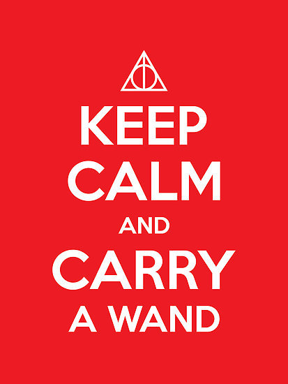carry, deathly hallows, harry potter, keep calm, wand