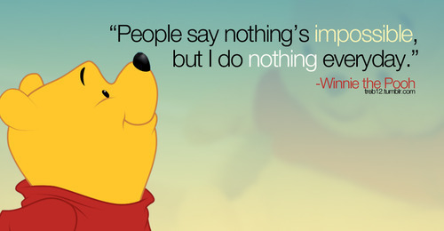 Cartoon Quotes Typography Winnie The Pooh
