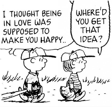 snoopy and charlie brown relationship
