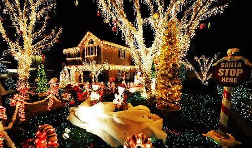 christmas, cute, enjoy, home, lights, new year, perfect, santa