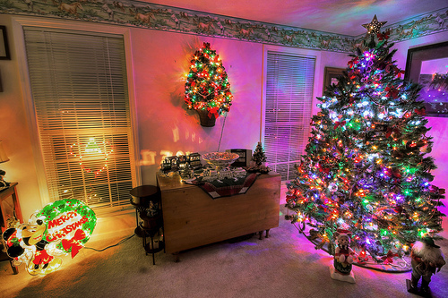 christmas, cute, enjoy, lights, new year, perfect, room, tree