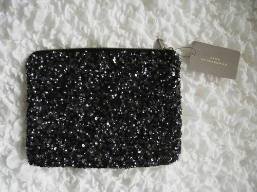 ciccidahlgren, clutch, fashion, sequins, zara