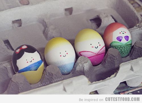 cinderella, cute, cutie eggs, disney, disney princess