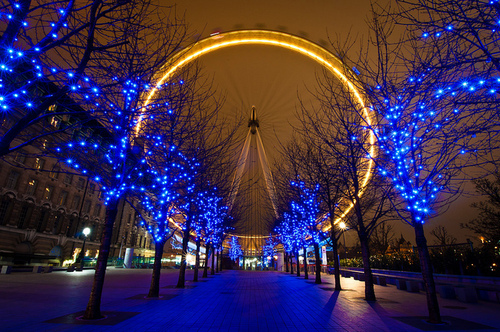 city lights, cityscape, london eye, luxury, night