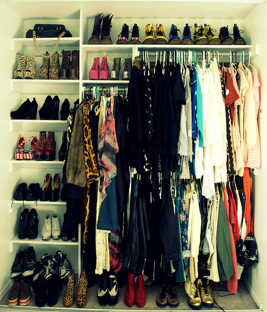 closet, clothes, fashion, style, wardrobe