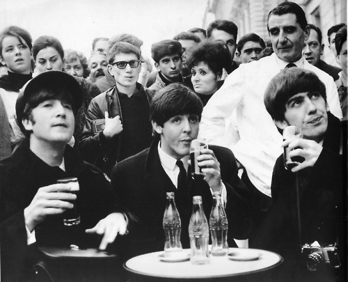 coca cola, coca-cola, coke, george harrison, john lennon